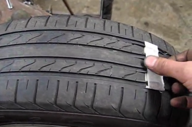Car Tyre Scam